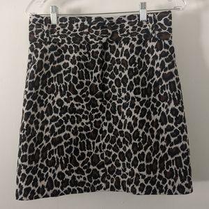 Topshop Leopard Mini w/ Removable Belt